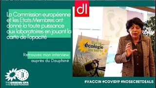 Vaccins: La Commission européenne a donné la toute puissance aux laboratoires