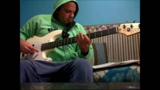 The Exploited - Blown to Bits (bass cover)