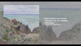 Piano Sonata no. 8 in C minor 'Pathetique', Op. 13