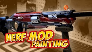 Nerf Mod – How to Paint – RedHood Accustrike Alphahawk