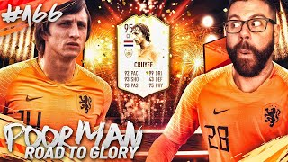 OMG I COMPLETED PRIME ICON 95 MOMENTS CRUYFF!!!! - POOR MAN RTG #166 - FIFA 19 Ultimate Team