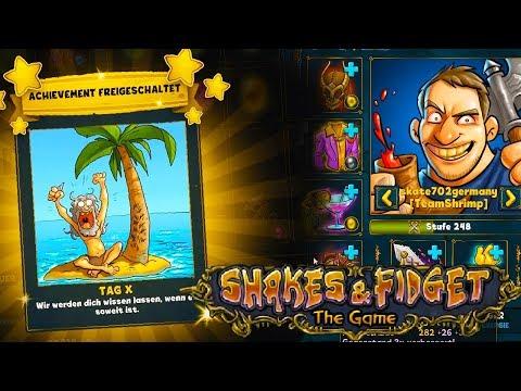 TAG X - Achievement? - Shakes & Fidget