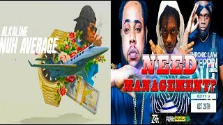 Alkaline Nuh Average, Squash, Daddy 1 & Chronic Law - In Need Of Management? - Live Call In