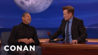 Jeff Goldblum's Secrets To Aging Gracefully  - CONAN on TBS