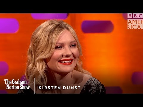 What Kirsten Dunst Gets From Tom Cruise Every Year - The Graham Norton Show