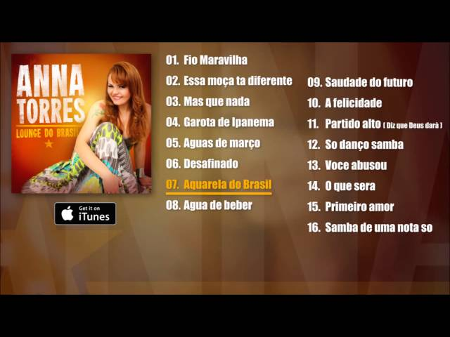 Anna Torres - Lounge Do Brasil Album Pre-listen [Official]