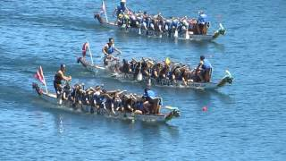 preview picture of video 'Welland Dragon Boat Festival 2014 ★ Race 11 ★ Niagara Harbour Hooligans, George Brown DBC Huskies'