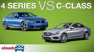 BMW 4 Series Gran Coupe vs. Mercedes-Benz C-Class | The Battle of The Luxury Sedans