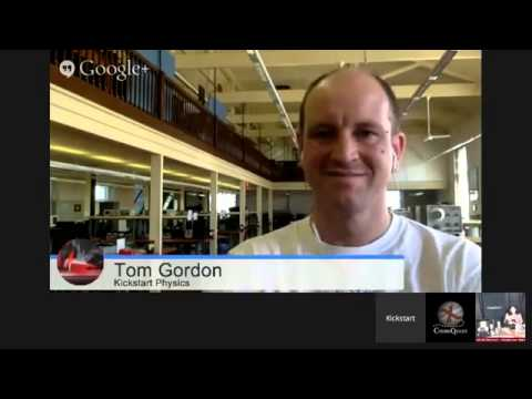 CosmoQuest quest interview with Science Communicator Tom Gordon