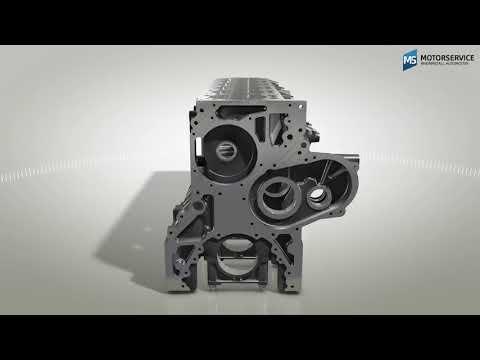 Estructura y función de un cárter del cigüeñal (animación 3D) - Motorservice Group