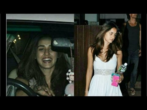 Tiger Shroff With Alleged Girlfriend Disha Patani! CAUGHT RED-HANDED!