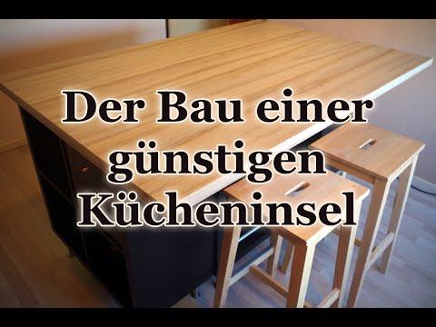 Die perfekte Rohkostküche - eine Kücheninsel für 350 Euro selber bauen!