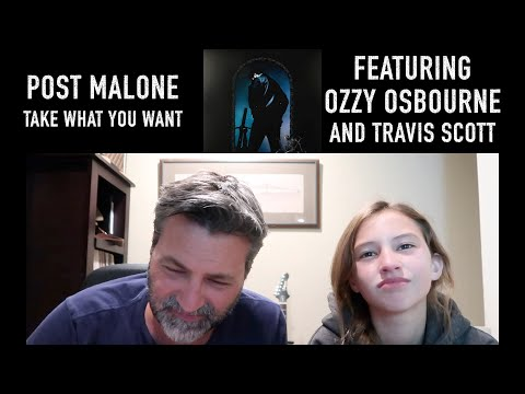 REACTION VIDEO! I Post Malone - Take What You Want featuring Ozzy Osbourne and Travis Scott
