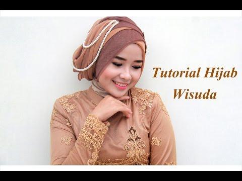 Video Tutorial Hijab Wisuda 2015 | Mutia Yulita