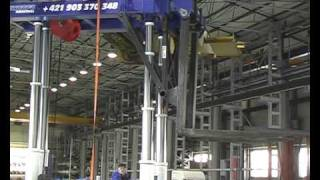 Portal Crane Installation (Industrial relocation)