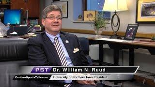 UNI President Bill Ruud - Athletic Director search