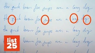 25 AWESOME Things Your Handwriting Says About You - Graphology Secrets Revealed!