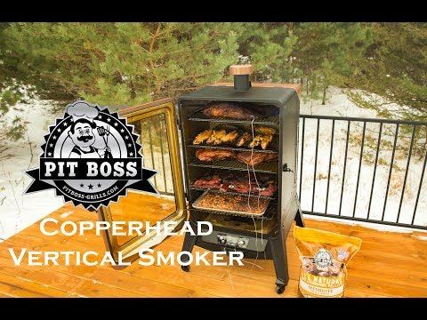 Pit Boss Copperhead Vertical Pellet Smokers