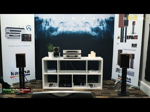 Falcon Acoustics BBC LS3/5A Demo with PRIMARE PRISMA I35 Amp CD35 Player @ The hi-fi Show Live 2018