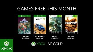 Games With Gold gennaio