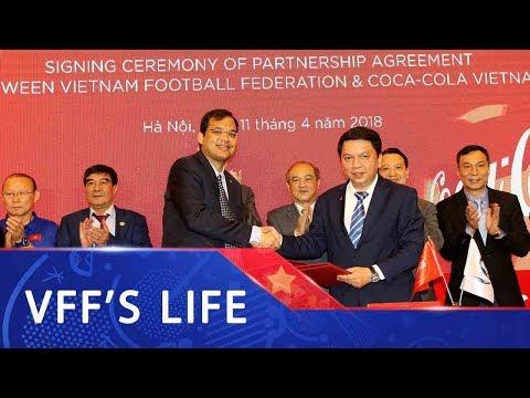 Lễ ký kết hợp tác giữa VFF và Coca Cola Việt Nam   VFF Channel