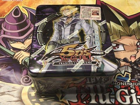 Yu-Gi-Oh! Jack Atlas 2009 Tin Opening!
