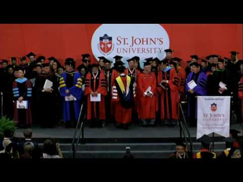 2017 College of Pharmacy and Health Sciences Queens Graduate Commencement Exercises