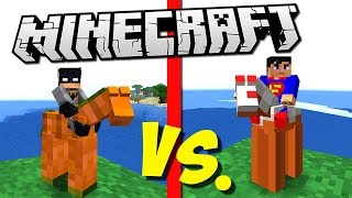 ГЛИНЯНЫЙ БЭТМЕН ПРОТИВ ГЛИНЯНОЙ АРМИИ СУПЕРМЕНА (Epic Clay Soldiers Battle) Minecraft #6
