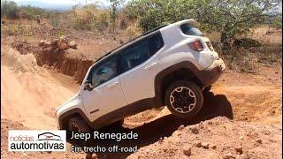 Jeep Renegade em demonstração off-road - NoticiasAutomotivas.com.br