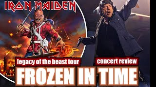 Iron Maiden's Beast Of A Legacy,  2019  Concert Review