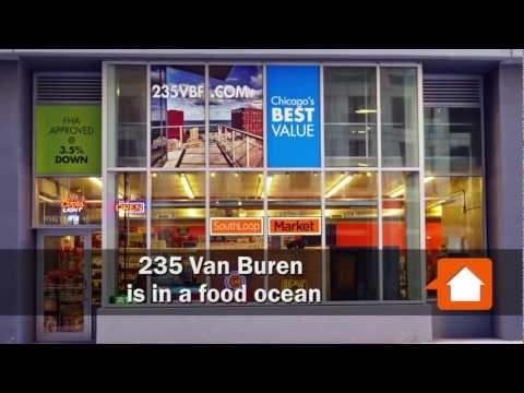 235 Van Buren, new Loop condos in a food ocean