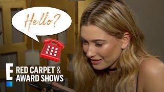 Hailey Baldwin Prank Calls BFF Kendall Jenner | E! Red Carpet & Award Shows