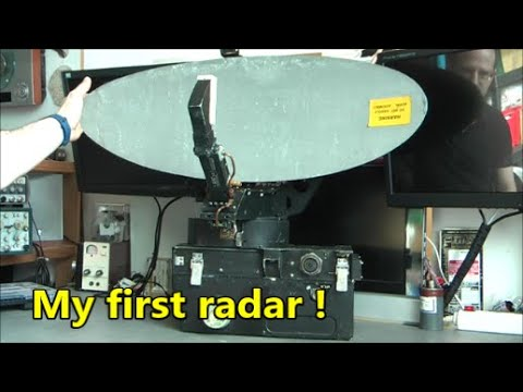 Ferranti doppler scanning radar antenna teardown