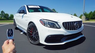 2019 Mercedes Benz C63 S AMG: Start Up, Exhaust, Test Drive And Review