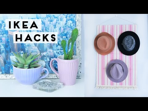 Ikea Hacks and DIY Room Decor and Home Decoration Ideas