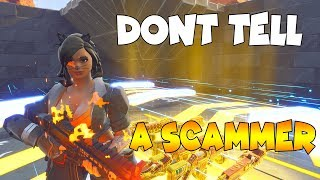 0% of People Know This SCAM TRAP!!🤫🤯 (Scammer Get Scammed) In Fortnite Save The World