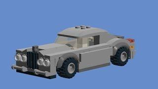 Как сделать машину из лего.
