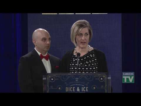 Kerena and Jordan Letcher Family Speech at Dice and Ice