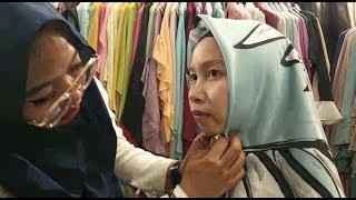 Buat yang Suka Tampil Simpel, Berikut Ini Tutorial Hijab Hurrem Tanpa Jarum Pentul