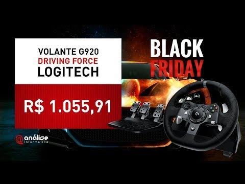 🔥 BLACK FRIDAY Volante Gamer Logitech G920 Driving Force