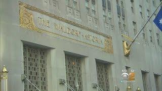 Historic Waldorf-Astoria Hotel Closing For Renovations