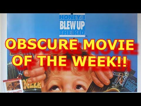 OBSCURE *Movie* of the WEEK!! - Honey I Blew Up The Kid (Spoiler Free)