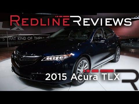 2015 Acura TLX - 2014 New York International Auto Show