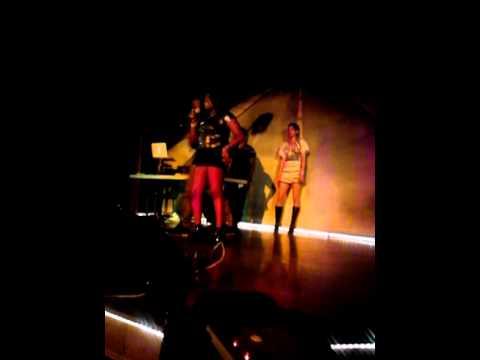 "MeMe Wilson Performing""Strokin"" and Cs in the Air"