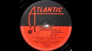 Aretha Franklin - Ain't Nothing Like The Real Thing / Eight Days On The Road - 7″ Brazil - 1974