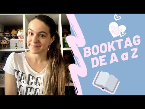 BOOKTAG: De A a Z | #VEDA02