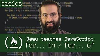 forin/forof-BeauteachesJavaScript
