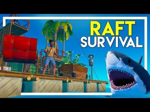 Project Raft - An Indie Shipwreck Survival Walkthrough