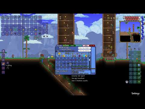 Terraria tmodloader │ Farming, grinding and much more │ x2 │ later with holy
