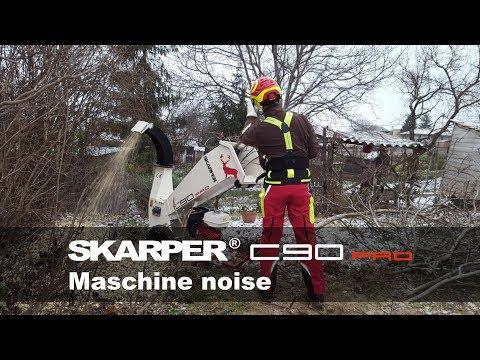 SKARPER® C90 PRO | zvuk stroja